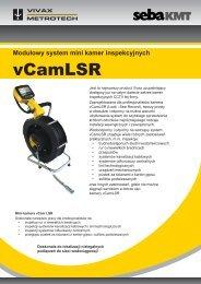 Modułowy system mini kamer inspekcyjnych - SebaKMT