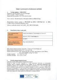 Zápis o posouzení a hodnocení nabídek - Střední škola obchodní ...