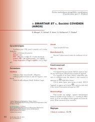 SMARTAIR ST , Société COVIDIEN (AIROX) - SPLF