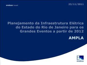 AMPLA – Planej. da infraest. elétrica do RJ para grandes ... - Crea-RJ