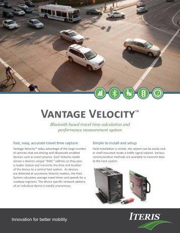 ITERIS Vantage Velocity - Interprovincial Traffic Services