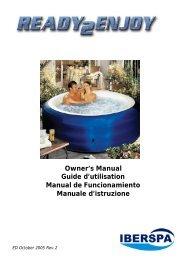 Owner's Manual Guide d'utilisation Manual de ... - AstralPool