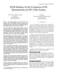 Evaluation of PD Measurements on MV Cable Systems - sebaKMT