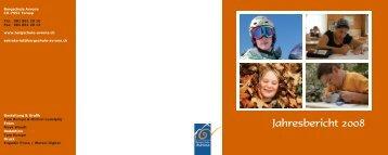 Jahresbericht 2008 - Bergschule Avrona