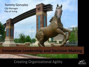 Innovative Leadership and Decision Making - IIA Dallas Chapter