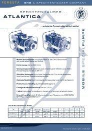 Schmutzwasserpumpe Atlantica - FERESTA GmbH