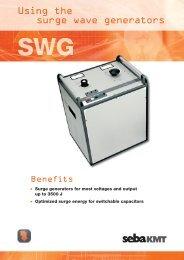 Using the surge wave generators - SebaKMT