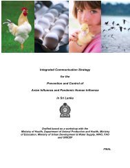 Integrated Communication Strategy for the Prevention and Control of ...