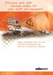 Efficient work with maximum safety for your staff and ... - SebaKMT