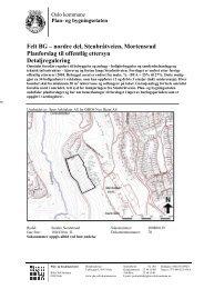 Felt BG – nordre del, Stenbråtveien, Mortensrud Planforslag til ...
