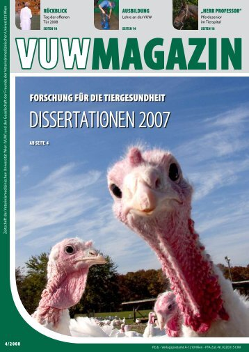 Dissertationen 2007 - VET-MAGAZIN.com