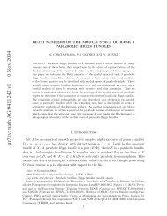 arXiv:math.AG/0411242 v1 10 Nov 2004