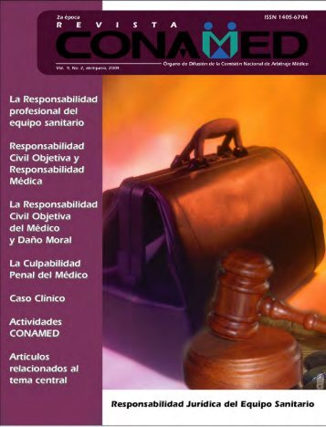 Revista CONAMED, Vol. 9, Núm. 2, abril - junio, 2004 - Comisión ...