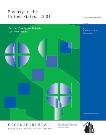 Poverty in the United States: 2001 - U.S. Census Bureau