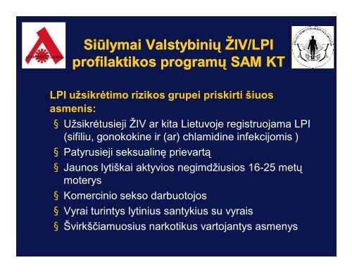 Diskusija dėl LPI rizikos grupių