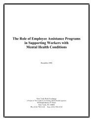 The Role of Employee Assistance Programs in Supporting Workers ...