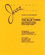 THE BLUE THREE