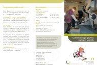 La kinésithérapie pour les jeunes en surpoids - UZ Brussel: Patientinfo