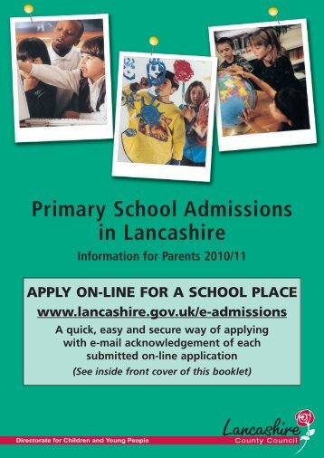 Primary Glossy - Lancashire County Council