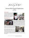 TEMPE FESTIVAL OF THE ARTS & ARIZONA WINE FESTIVAL ... - Page 3