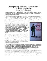 'Wargaming Airborne Operations' book - Lone Warrior Blog