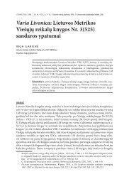 Varia Livonica: Lietuvos Metrikos Viešųjų reikalų knygos Nr. 3(525 ...