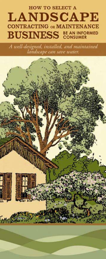 Request For Proposal To Provide Landscape Maintenance