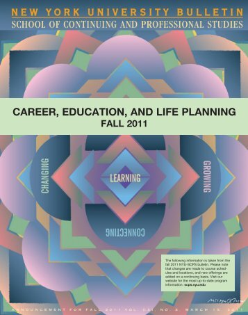 CAREER, EDUCATION, AND LIFE PLANNING - School of ...