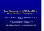 CARDIAC proBNP - Golling, Dr. med. Felix-R.