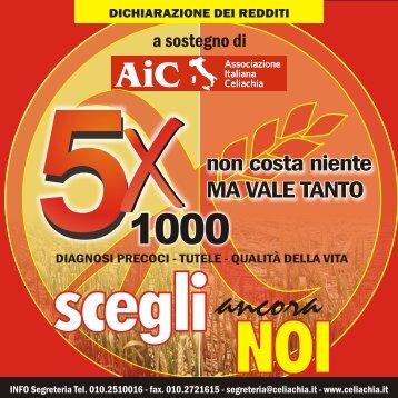 5 per mille cn 2 ante 2010sito - Associazione Italiana Celiachia