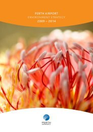 PERTH AIRPORT ENVIRONMENT STRATEGY 2009 – 2014