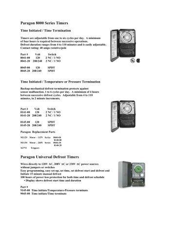 defrost timer 8145 00 wiring diagram defrost termination switch diagram elsavadorla