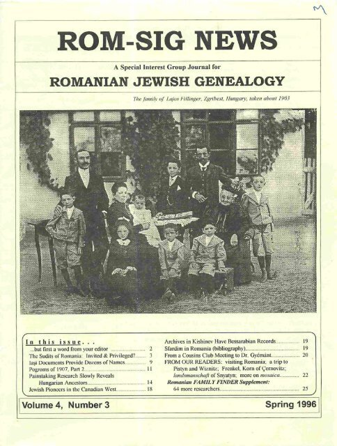 Romanian Genealogy
