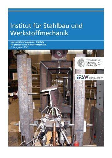 Institut für Stahlbau und Werkstoffmechanik - IFSW - Technische ...