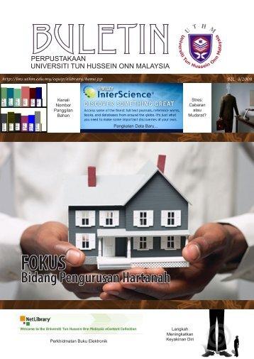 Bidang Pengurusan Hartanah - UTHM Library - Universiti Tun ...
