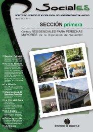 Revista Sociales - Marzo 2012 - Nº 13 - Diputación de Valladolid