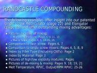 Randcastle Extrusion Elongator Presentation - PolymerPlace.com