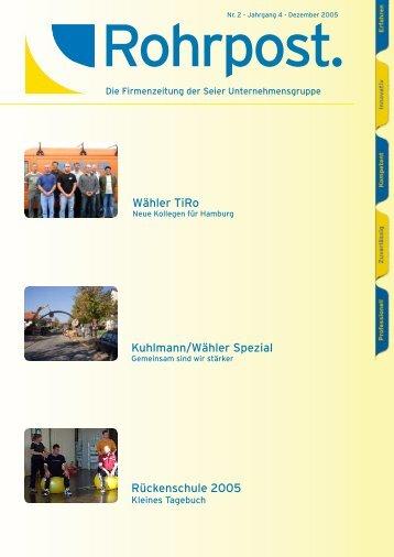 zum 25 jährigen Jubiläum - Wilhelm Wähler Spezialtiefbau GmbH