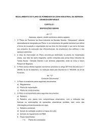 REGULAMENTO DO PLANO DE PORMENOR DA ZONA ...