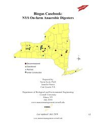 Biogas Casebook: NYS On-Farm Anaerobic Digesters - Manure ...