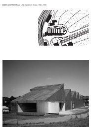 GIGON & GUYER, Musée Liner, Appenzell, Suisse, 1996 - 1998
