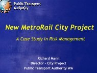 New MetroRail City Project