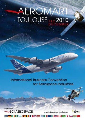 International Business Convention for Aerospace ... - BCI Aerospace