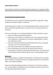 Kleine Anfrage Thomas Wymann betreffend Asylantenheim ... - Brugg