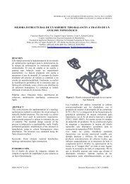 mejora estructural de un soporte tipo balancín a través de un ...