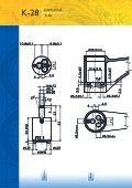 Cartuccia a dischi ceramici Diametro 28 mm Modello K-28 - Page 2