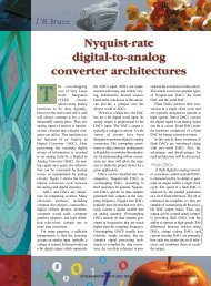 Nyquist-rate digital-to-analog converter architectures - Electrical and ...