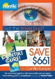 Got the travel bug - Contiki