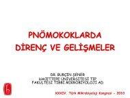 Burçin Şener - Türk Mikrobiyoloji Cemiyeti