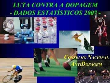 CNAD - Dados Estatísticos 2007